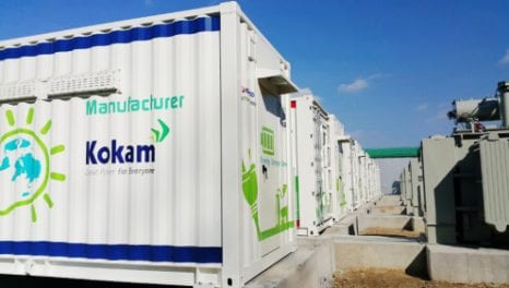 KEPCO Leads Way With Battery Storage For Frequency Regulation