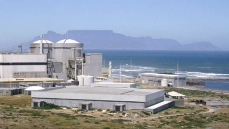 """""""Nuclear is South Africa's only answer to its energy crisis"""""""