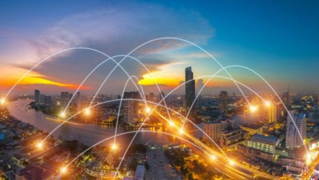 Connecting DERs on the packet-optimal communications network