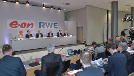E.ON and RWE agree Innogy deal creating new German energy giants